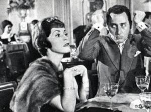 Franca Valeri con Alberto Sordi ne Il vedovo (1959) – Fonte: Corriere della Sera